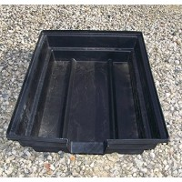 "Three- Aquaponics - Hydroponics & Pond Grow Bed and Bio-Filter with 6"" Spillw..."
