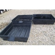 """Three- Aquaponics - Hydroponics & Pond Grow Bed and Bio-Filter with 8"""".Spillw..."""