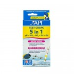 API 5-IN-1 TEST STRIPS Aquarium Water Test Strips 25-count