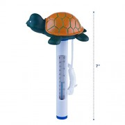 MILLIARD Floating Pool Thermometer Turtle, Large Size with String, for Outdoor / Indoor Swimming Pools, Hot Tub, Spa, Jacuzzi and Pond