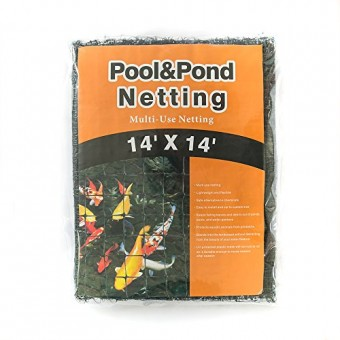 Gardener House Small Pool and Pond Net-Cleaning the pool or water feature- Repel debris and leaves- 14x 14ft