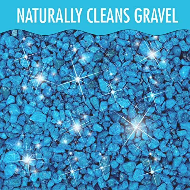 Aquarium gravel cleaner for fish tanks removes excess for Fish tank pebbles