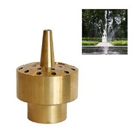 "NAVA Brass Column Fountain Nozzle Sprinkler Spray Head Pond (3/4"" DN20)"