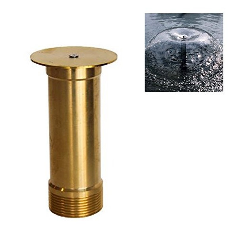 Nava thread mushroom fountain nozzle spray head pond