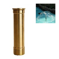 "NAVA New Brass 1.5"" DN40 Trumpet Petunia Fountain Nozzle Garden Pond Spray Sprinkler"