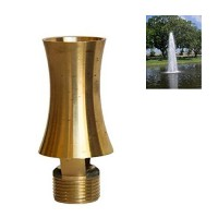 "NAVADEAL 1/2""DN15 & 3/4""DN20 Brass Ice Tower Cascade Water Fountain Nozzle Spray Sprinkler Head"