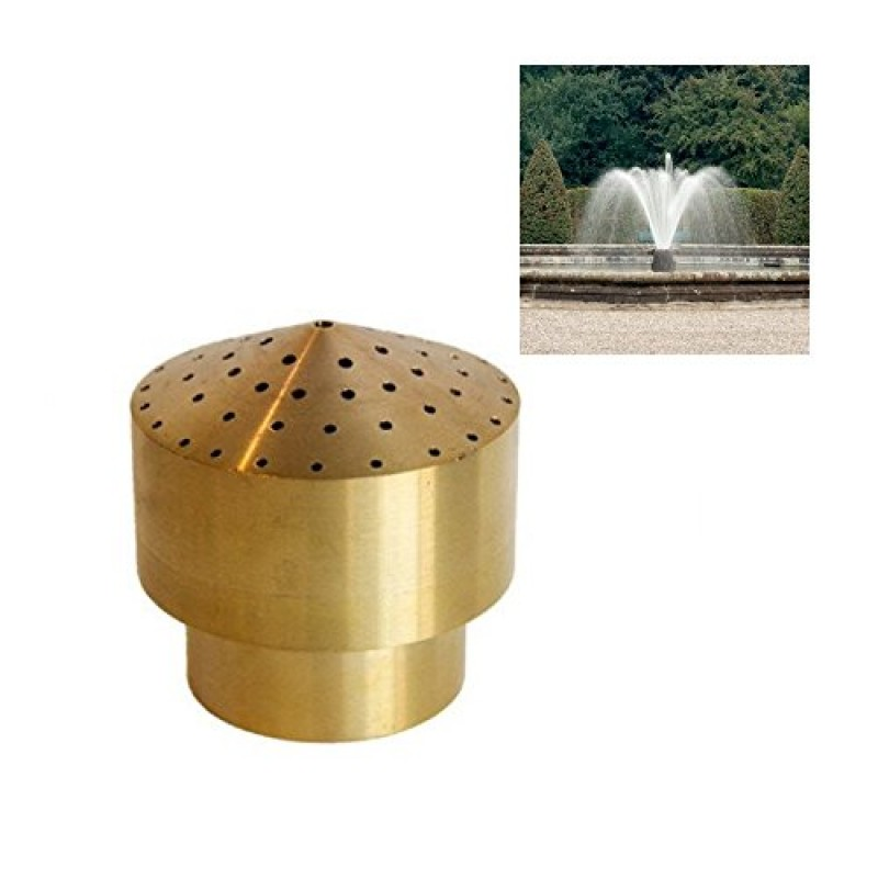 """Aquarium Pond Water Garden Fountain And Commercial: New High Quality 3/4"""" DN20 Brass Fireworks Fountain Nozzle"""