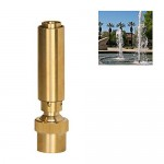 "NAVADEAL 3/4"" DN20 Air Added Bubbling Fountain Nozzle Spray Pond Garden Sprinkler"