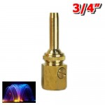 "NAVADEAL 3/4"" DN20 Brass Multi Direction Comet Fountain Nozzle Spray Sprinkler Head ()"