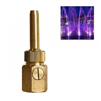 "NAVAdeal 3/4"" DN20 Brass Multi Direction Comet Water Fountain Nozzle Spray Pond Sprinkler Head"