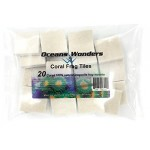 Oceans Wonders 20-Piece Coral Frag Tiles