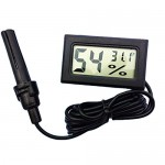 Pawliss Digital 2-in-1 Terrarium Reptile Thermometer Hygrometer With Probe