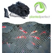 15 x 20 FT POND NET COVER - Easy Setup Pool and Fishpond Nylon Netting Protects Fish, Ponds and Koi from Birds and Leaves - Durable, See-Through Sa...