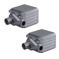 (2) PONDMASTER Supreme PM-24 2400 GPH Mag Drive Pond Aquarium Max Pumps | 02750