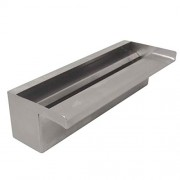 """ProEco WSS36 36"""" Stainless Steel Waterfall Weir Spillway 3000 GPH"""