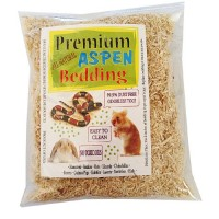 Premium All Natural Aspen Snake Raptiles Bedding 120 Cu. Inch (Product of U.s.a.) by Spring Valley