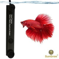 Betta Heater for Small (1.5 gal.) Tanks - Fully Submersible Aquarium Heater - Automatically Reaches Preset Temperature - Energy-efficient Heating M...