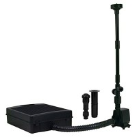 Tetra Pond Filtration Fountain Kit, Includes 3 Fountain Attachments