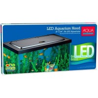 Aqua Culture LED Aquarium Hood for 20/55 Gallon Aquariums - Tetra