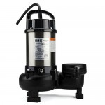 "Aquascape Tsurumi 12PN 1hp, 115V, submersible pond & waterfall pump, high flow, 11,500 GPH, 3"" discharge"