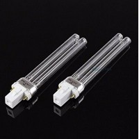 2 PCS Replacement Uv Light Bulbs 9w Watt G23 Base for Aquarium UVC Sterilizer