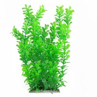"12"" Green Water Plastic Plant Decoration for Aquarium"