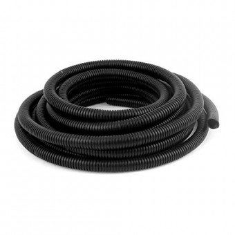 Uxcell a16030800ux0176 Corrugated Tube 16' Flexible Corrugated Hose Tubing 10mmx13mm for Pond Pump Filter