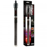 ViaAqua 200-Watt Quartz Glass Submersible Heater with Built-In Thermostat