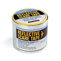 Best Gardening Secret Bird and Animal Repellent Scare Birds Away Replace Your Scarecrow with Our Highly Effective Scare Tape 125 Foot Roll