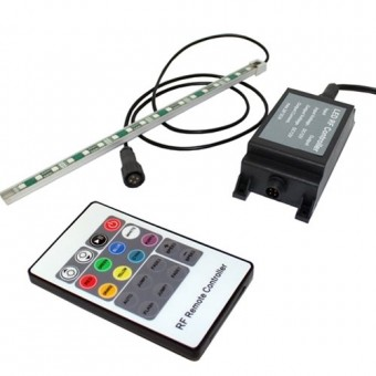 """Color Changing LED Strip Light 12"""" - Compatible with 11""""/12"""" Waterfall Weirs"""