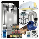 Complete 3 x 3 Grow Tent Package w/ 400W Sealed HPS HID, Filter, Fan and more by Wormsway.com