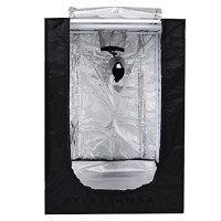 "24""x24""x36"" Mini Grow Tent Indoor Hydroponics Dark Room 100% Reflective Mylar"