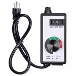 Variable Fan Blower Speed Controller Hydroponics Inline Duct Vortex Exhaust Control 1800W 3 Setting UL Listed Adjuster