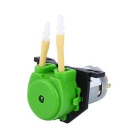 Dosing Pump12V DC Peristaltic Liquid Pump Hose Pump Dosing Head for Aquarium Lab Analytical Water (Green)