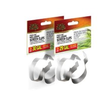 Zilla Fresh Air Non-Locking Screen Clips, 2-Pack