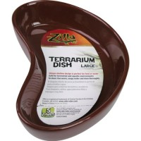 Zilla Terrarium Dish, Large, Colors Vary