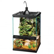 Zilla Tropical Reptile Vertical Starter Kit with Mini Halogen Lighting
