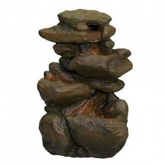 Zoo Med Labratories Repti Rapids LED Rock Waterfall, Small